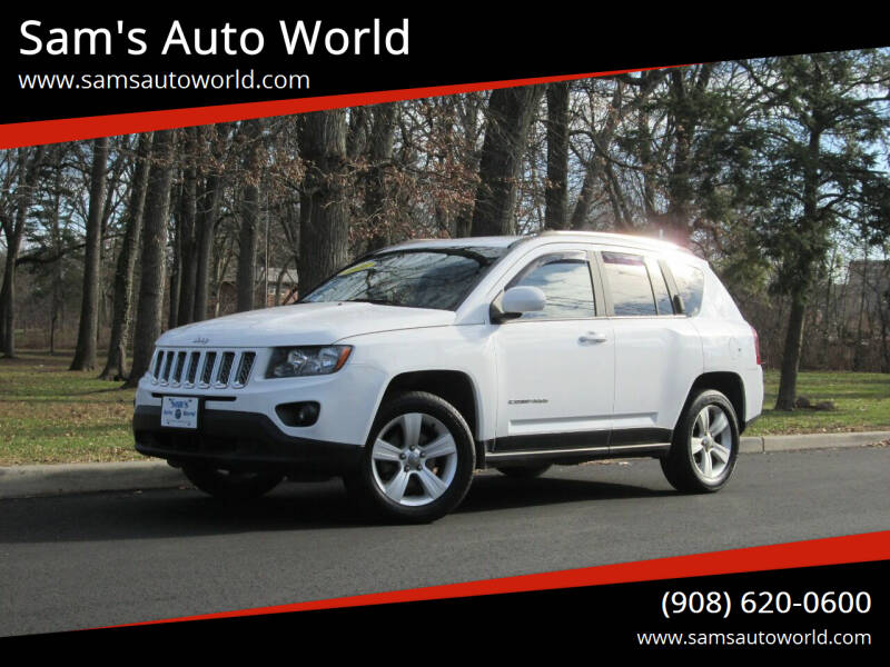 2014 Jeep Compass for sale at Sam's Auto World in Roselle NJ