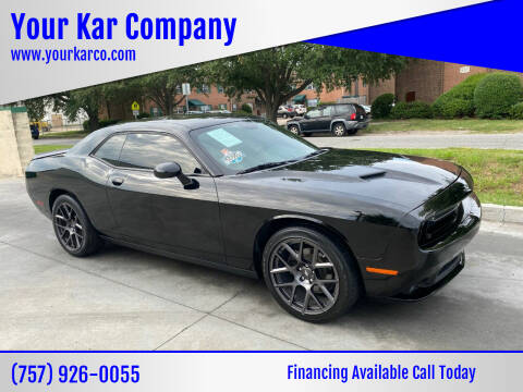 2018 Dodge Challenger for sale at Your Kar Company in Norfolk VA