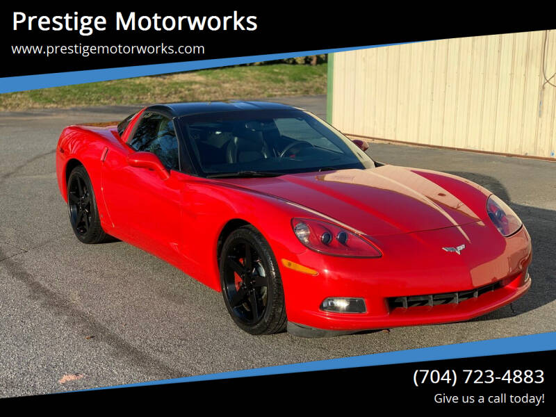 2006 Chevrolet Corvette for sale at Prestige Motorworks in Concord NC