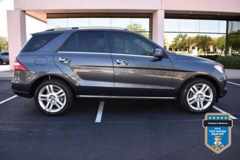 2013 Mercedes-Benz M-Class for sale at GOLDIES MOTORS in Phoenix AZ