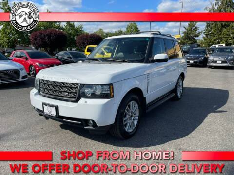 2012 Land Rover Range Rover for sale at Auto 206, Inc. in Kent WA