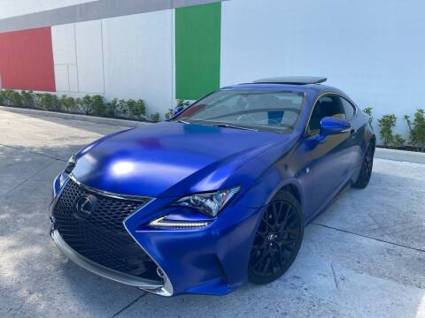 2015 Lexus RC 350 for sale at Auto Beast in Fort Lauderdale FL