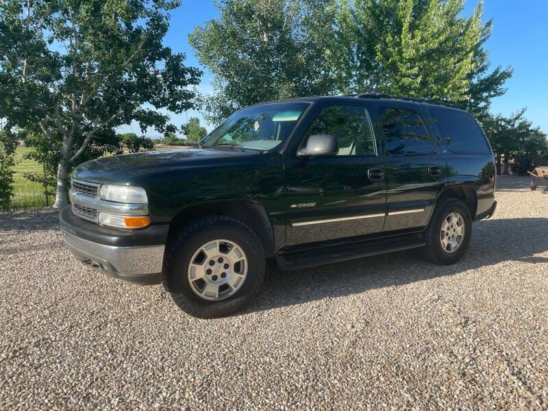 2001 Chevrolet Tahoe for sale at Ace Auto Sales in Boise ID