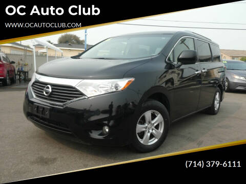 2016 Nissan Quest for sale at OC Auto Club in Midway City CA