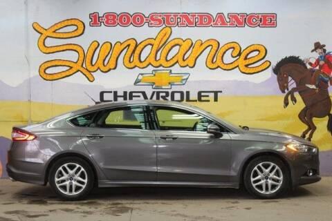 2013 Ford Fusion for sale at Sundance Chevrolet in Grand Ledge MI