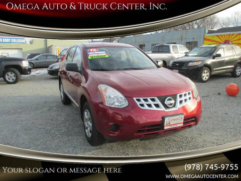 2013 Nissan Rogue for sale at Omega Auto & Truck Center, Inc. in Salem MA