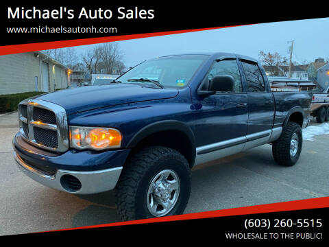 2003 Dodge Ram Pickup 2500 for sale at Michael's Auto Sales in Derry NH