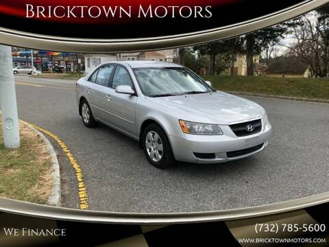2008 Hyundai Sonata for sale at Bricktown Motors in Brick NJ