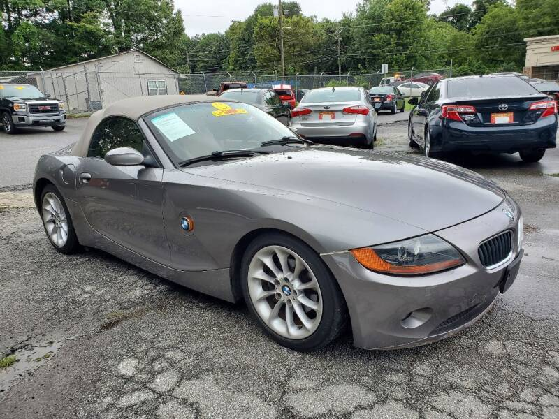 2003 BMW Z4 for sale at Import Plus Auto Sales in Norcross GA