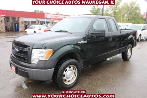 2014 Ford F-150 for sale at Your Choice Autos - Waukegan in Waukegan IL