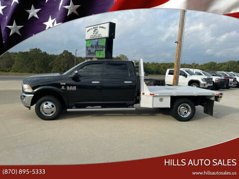 2016 RAM Ram Chassis 3500 for sale at Hills Auto Sales in Salem AR
