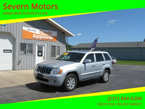 2008 Jeep Grand Cherokee for sale at Severn Motors in Cadillac MI