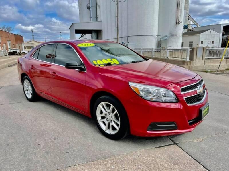 2013 Chevrolet Malibu for sale at Island Auto Express in Grand Island NE