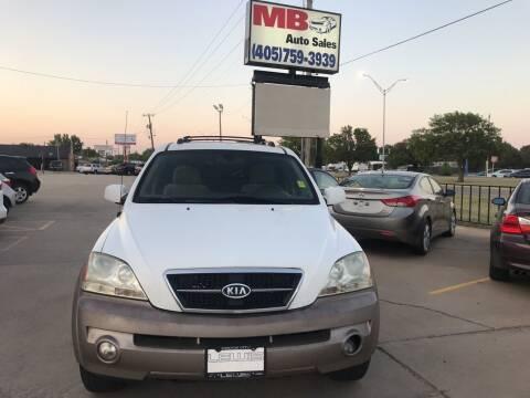 2005 Kia Sorento for sale at MB Auto Sales in Oklahoma City OK