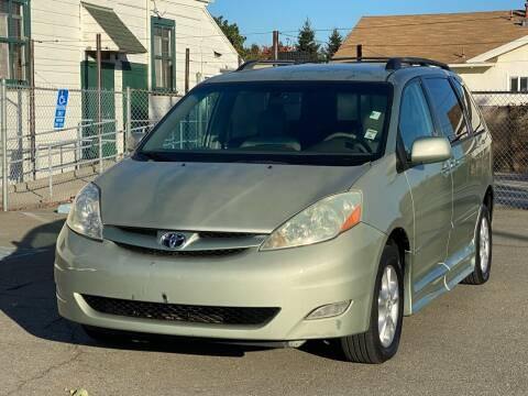 2006 Toyota Sienna for sale at ZaZa Motors in San Leandro CA