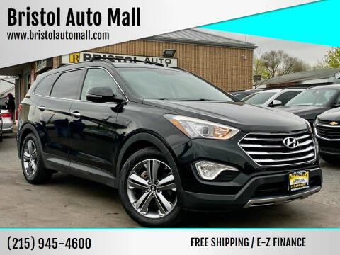2015 Hyundai Santa Fe for sale at Bristol Auto Mall in Levittown PA