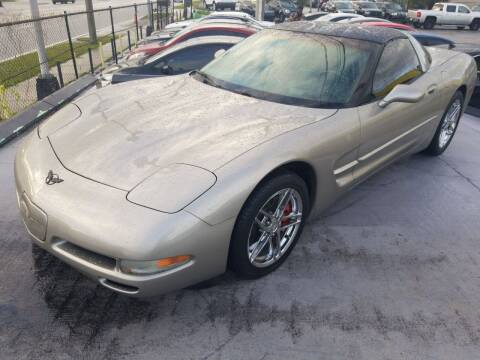 2002 Chevrolet Corvette for sale at Castle Used Cars in Jacksonville FL