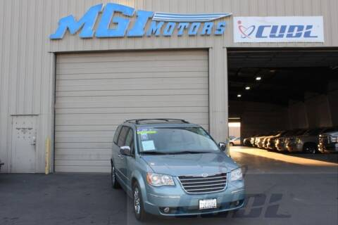 2010 Chrysler Town and Country for sale at MGI Motors in Sacramento CA