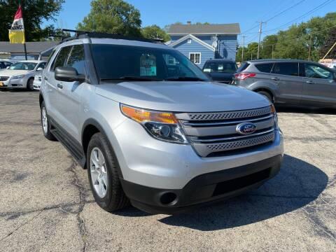 2013 Ford Explorer for sale at COMPTON MOTORS LLC in Sturtevant WI