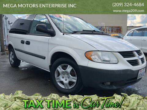 2007 Dodge Caravan for sale at MEGA MOTORS ENTERPRISE INC in Modesto CA