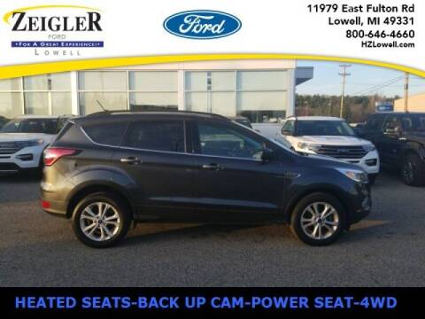 2018 Ford Escape for sale at Zeigler Ford of Plainwell- michael davis in Plainwell MI