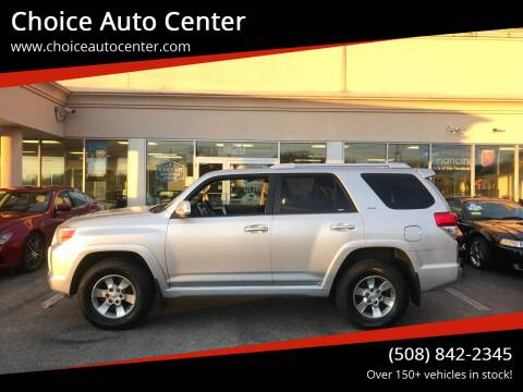 2011 Toyota 4Runner for sale at Choice Auto Center in Shrewsbury MA