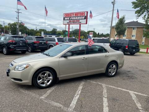 2011 Chevrolet Malibu for sale at Christy Motors in Crystal MN