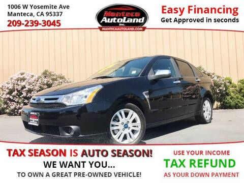 2008 Ford Focus for sale at Manteca Auto Land in Manteca CA