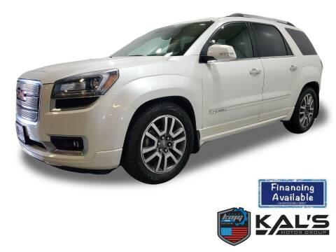 2014 GMC Acadia for sale at Kal's Kars - SUVS in Wadena MN
