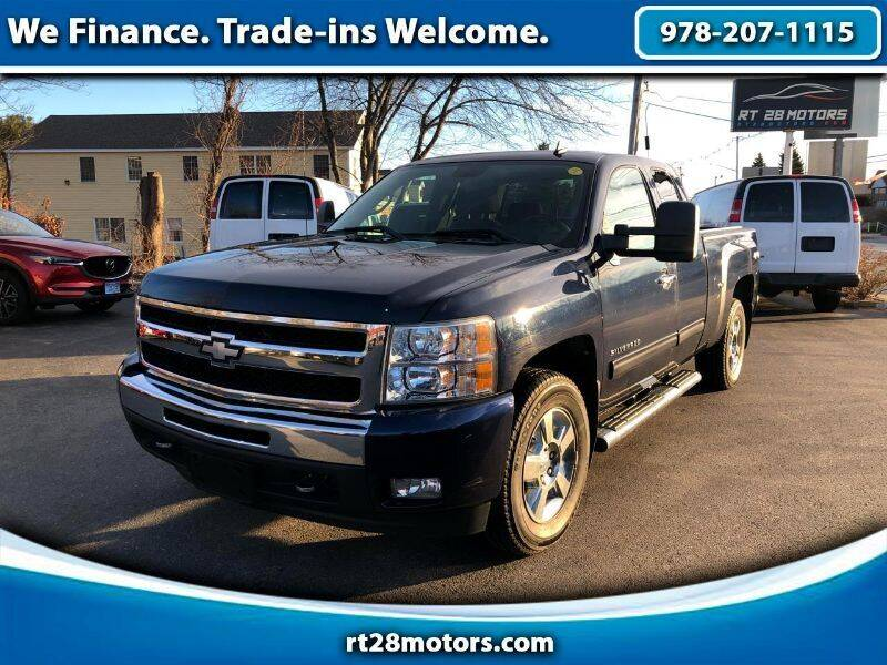 2011 Chevrolet Silverado 1500 for sale at RT28 Motors in North Reading MA
