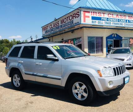 2007 Jeep Grand Cherokee for sale at First Class Motors in Greeley CO