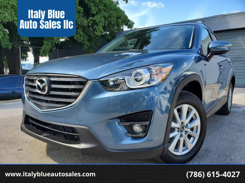 2016 Mazda CX-5 for sale at Italy Blue Auto Sales llc in Miami FL