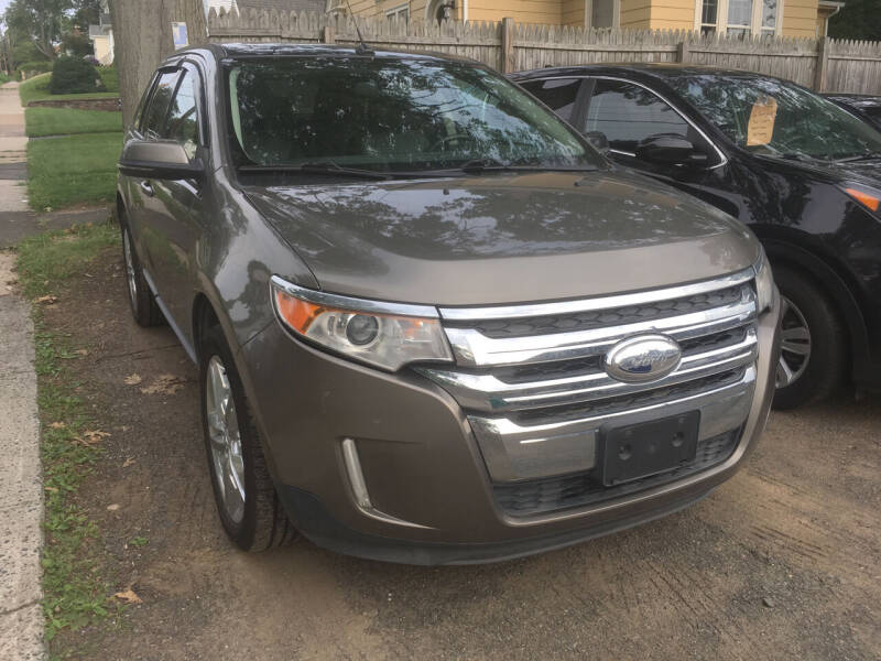 2013 Ford Edge for sale at MELILLO MOTORS INC in North Haven CT