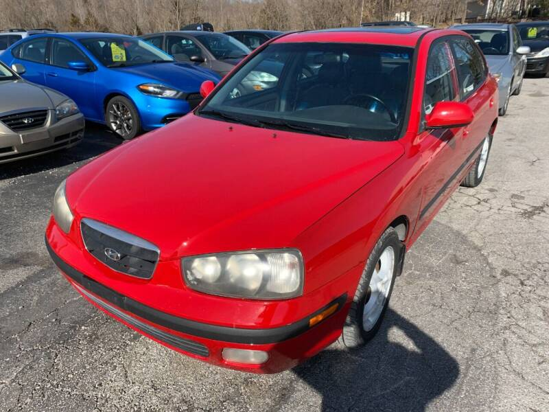 2002 Hyundai Elantra for sale at Best Buy Auto Sales in Murphysboro IL