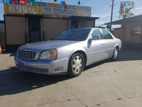 2005 Cadillac DeVille for sale at DEL CORONADO MOTORS in Phoenix AZ