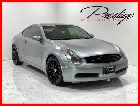 2005 Infiniti G35 for sale at Prestige Motorsport in Rancho Cordova CA
