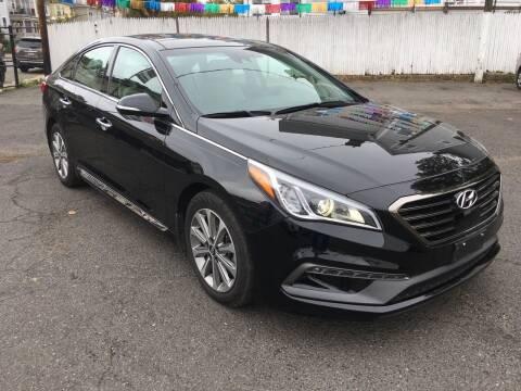 2016 Hyundai Sonata for sale at B & M Auto Sales INC in Elizabeth NJ