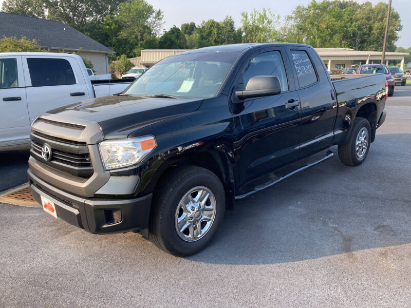 2017 Toyota Tundra for sale at McCully's Automotive - Trucks & SUV's in Benton KY