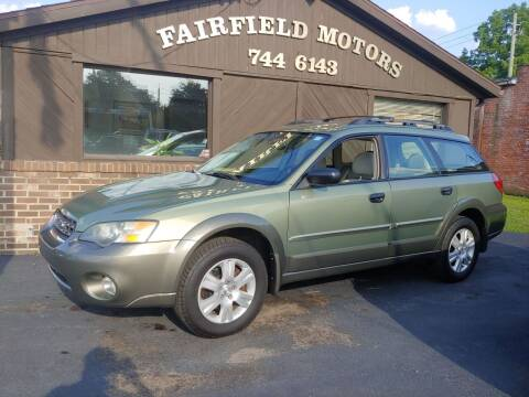 2005 Subaru Outback for sale at Fairfield Motors in Fort Wayne IN