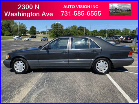 1995 Mercedes-Benz S-Class for sale at Auto Vision Inc. in Brownsville TN