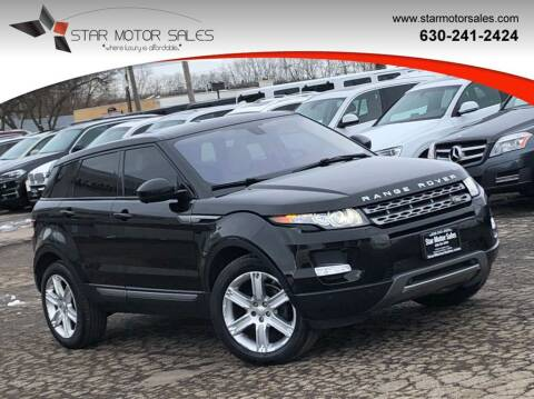 2015 Land Rover Range Rover Evoque for sale at Star Motor Sales in Downers Grove IL
