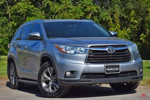 2015 Toyota Highlander for sale at Rosedale Auto Sales Incorporated in Kansas City KS