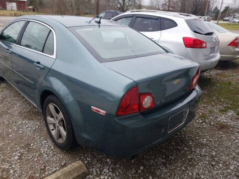 2009 Chevrolet Malibu for sale at David Shiveley in Mount Orab OH