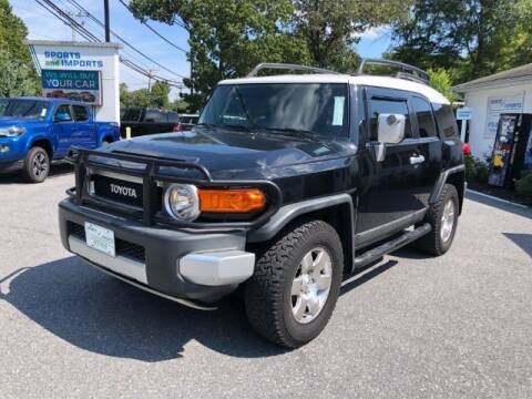 2007 Toyota FJ Cruiser for sale at Sports & Imports in Pasadena MD