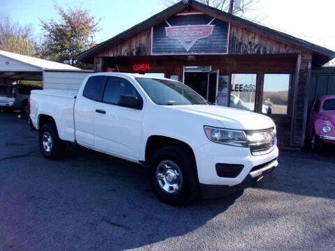 2015 Chevrolet Colorado for sale at LEE AUTO SALES in McAlester OK