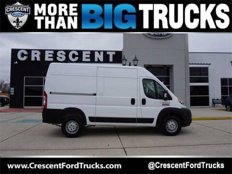 2020 RAM ProMaster Cargo for sale at Crescent Ford in Harahan LA