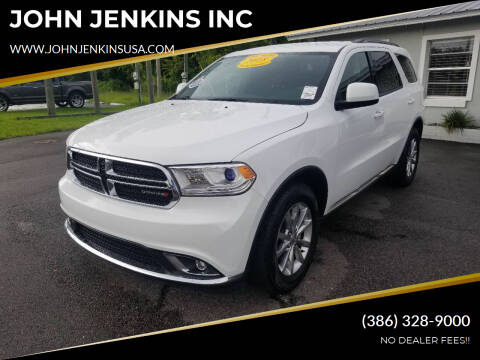 2018 Dodge Durango for sale at JOHN JENKINS INC in Palatka FL