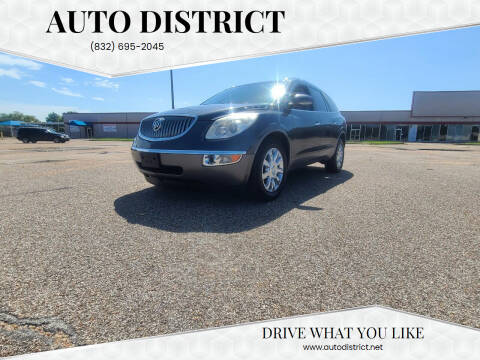 2011 Buick Enclave for sale at Auto District in Baytown TX