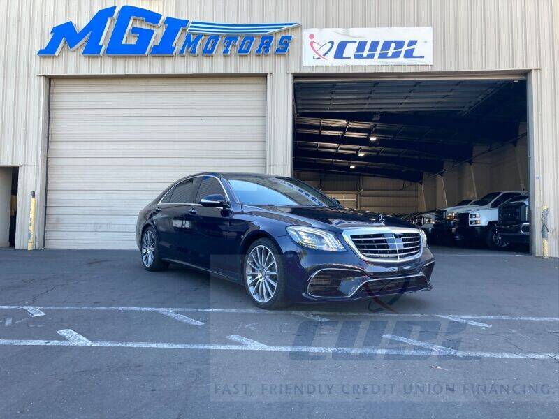 2016 Mercedes-Benz S-Class for sale at MGI Motors in Sacramento CA
