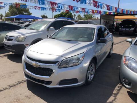 2015 Chevrolet Malibu for sale at Valley Auto Center in Phoenix AZ